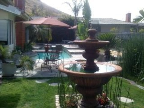 Big hillside Pool & Spa view home. - Vacation Rental in Anaheim