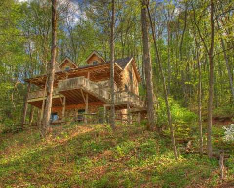 A Lake Memory - Lake Nantahala NC Vacation Rental  - Vacation Rental in Andrews