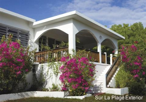 Sur La Plage Beachfront Estate: 2 Private Villas - Vacation Rental in Anguilla