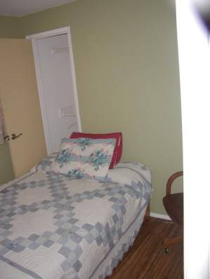 Comfortable bedrooms with linens provided