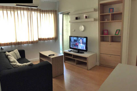 1 BR,5min to BTS,FreeWiFi,Sukhumvit - Vacation Rental in Bangkok