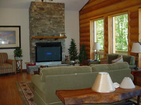 Mountain Log Home Getaway - Vacation Rental in Banner Elk