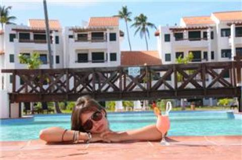 Stanza Mare 3 Bedroom Oceanfront Apartment L201 - Vacation Rental in Bavaro
