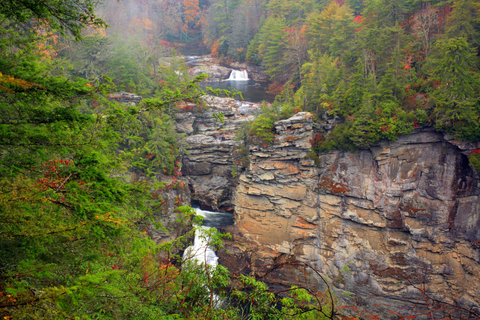 The 4 Seasons at Beech is a short drive from Linville Falls, one of the most impressive falls in the area!