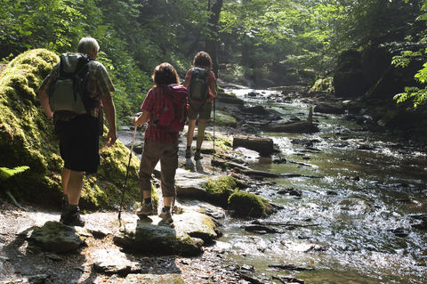 Many trails in and around Beech offer recreation opportunities for all ages!