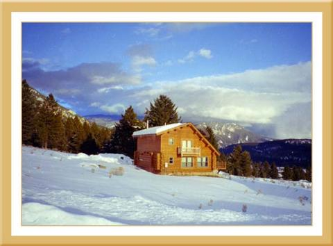 Hud's Big Sky Montana Vacation Cabin - Vacation Rental in Big Sky