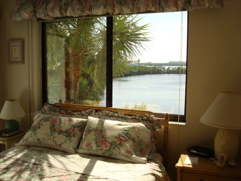 View from Master Bedroom - Bonita Springs Vacation Rental