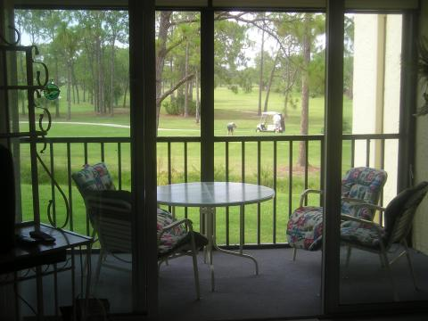 Bonita Pines Club with Golf Course View from Lanai - Vacation Rental in Bonita Springs