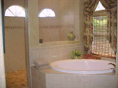 Upscale Luxurious Master Bath