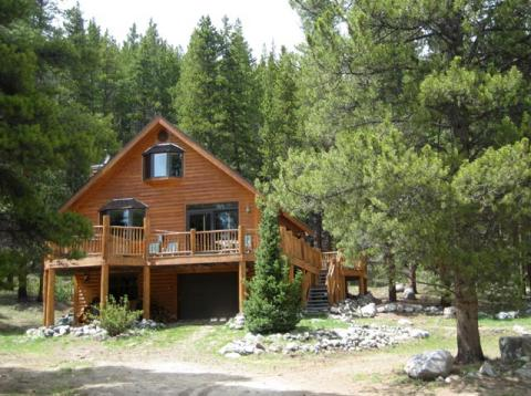 Modern log cabin- Secluded, yet close to the slope - Vacation Rental in Breckenridge