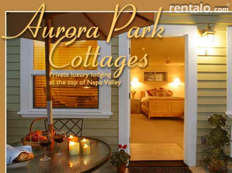 Aurora Park Cottages B & B - Bed and Breakfast in Calistoga