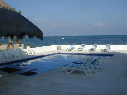 Casa del Cielo. Luxury Beachfront with Pool - Vacation Rental in Cancun