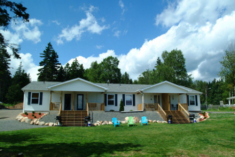 NEW 4-PLEX 2-BEDRM. OCEANFRONT COTTAGES OPENING SPRING 2007 - Cape Breton Island Hotels