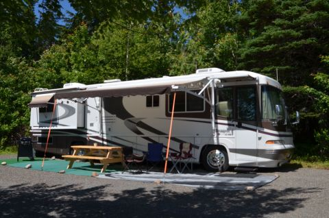 New Motorhome 40 ft. exterior