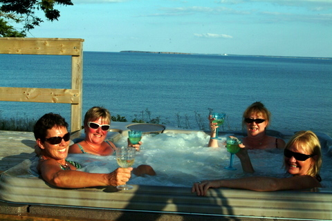 Newest Oceanfront Hot-tub