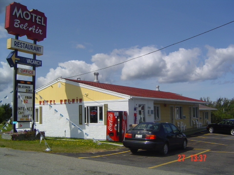 Motel Bel Air - Hotel in Caraquet