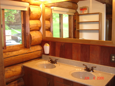 Master bath with sauna! - Catskills Vacation Homes