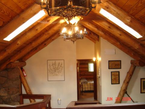 Loft with cathedral ceilings - Catskills Vacation Homes