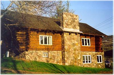 Mountain View Log Home - Vacation Rental in Catskills
