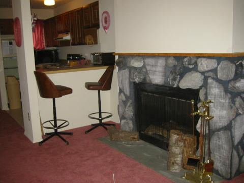 Dining Room/Fire Place area