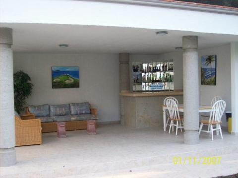 Bar and Sitting Area