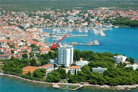 Apartment PUNTA,center Vodice,50m beach A3 2+2 per - Vacation Rental in Dalmatia