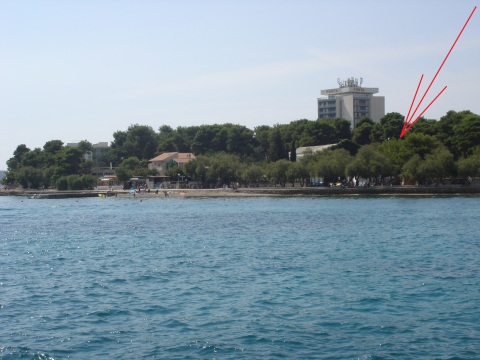 Dalmatia PUNTA,center Vodice,50m beach A1 4+2 - Vacation Rental in Dalmatia
