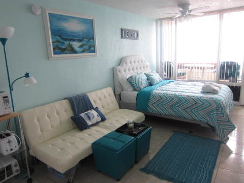 DIRECT OCEAN FRONT STUDIO PIRATES COVE RESORT DAYT - Vacation Rental in Daytona Beach Shores