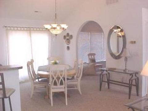 Dining room at 'SeaDucktion' - Duck Vacation Rental Home