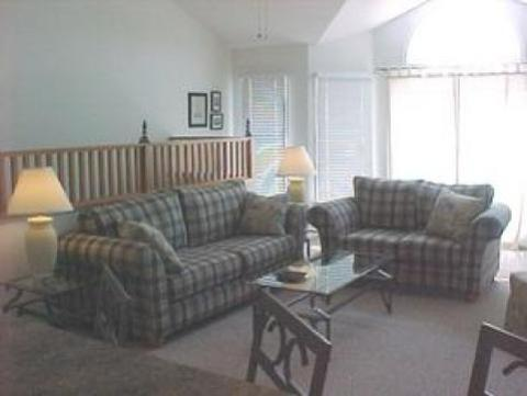 Spacious living room - Duck Vacation Rental Home