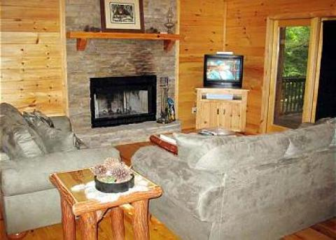 Indian Trail Creek - Vacation Rental in Ellijay
