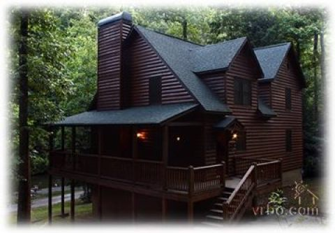 Stocked Trout Stream Cabins - Vacation Rental in Ellijay