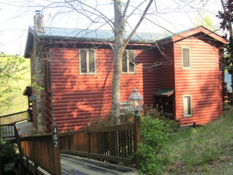 Pappy's  Southern Comfort - Coosewattee River Reso - Vacation Rental in Ellijay