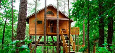 Treehouse Cottages - Vacation Rental in Eureka Springs