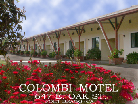 COLOMBI MOTEL - Hotel in Fort Bragg