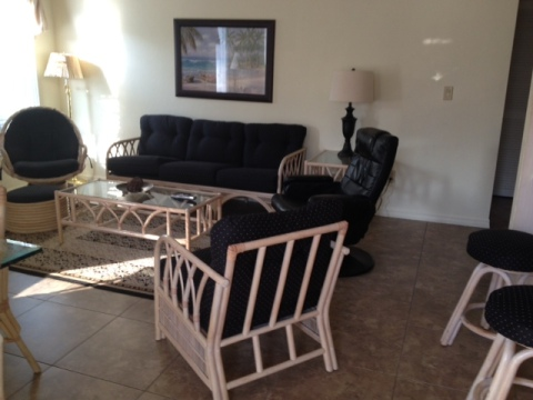 Living Room - Fort Myers Beach Vacation Homes