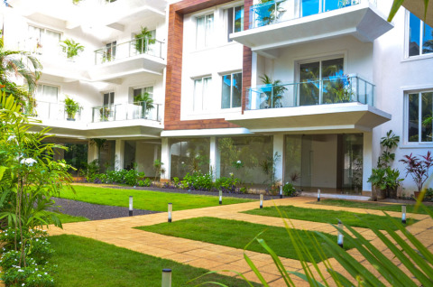 Luxurious & Cozy Apartment - Baga - Vacation Rental in Goa