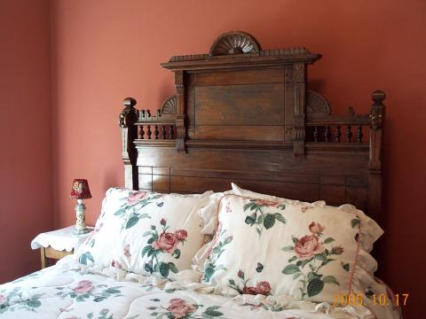 The Oak Room, antique queen size bed