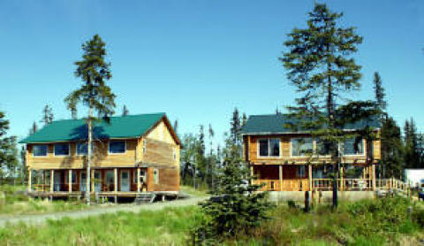 Fishing & Wildlife w/Rustic Cabin Anchor Point, Ak - Vacation Rental in Homer
