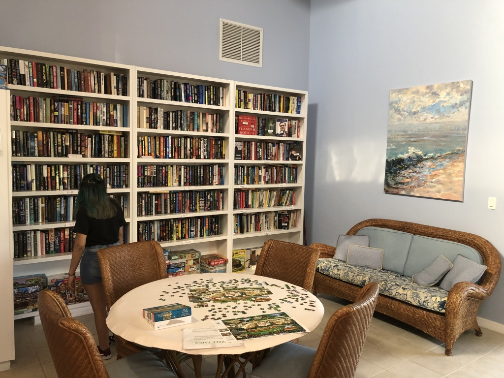 Library and Card Game Room