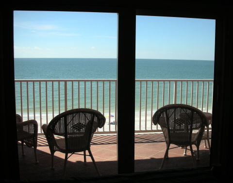 DREAM CONDO 3 bdrm directly on the Gulf of Mexico - Vacation Rental in Indian Shores
