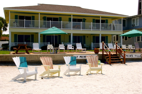 CAY POINTE VILLA BEACH FRONT VILLAS - Vacation Rental in Indian Rocks Beach