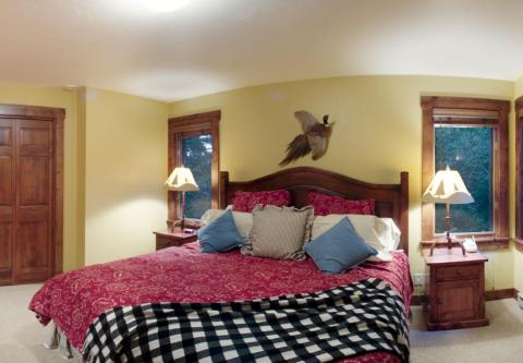 Private master with luxury linens - Jackson Hole Vacation Homes
