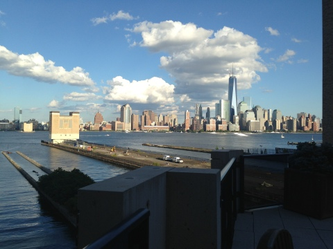 Furnished Suites Facing Manhattan Skyline - Vacation Rental in Jersey City