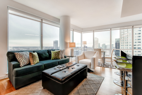 Luxury 1 BR apartment in Jersey City with Views of - Vacation Rental in Jersey City
