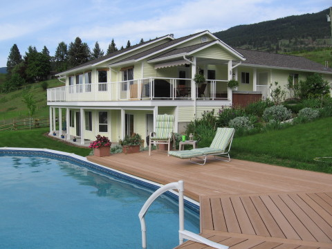 Kelowna - Lake Country 1/2 of house - Vacation Rental in Kelowna