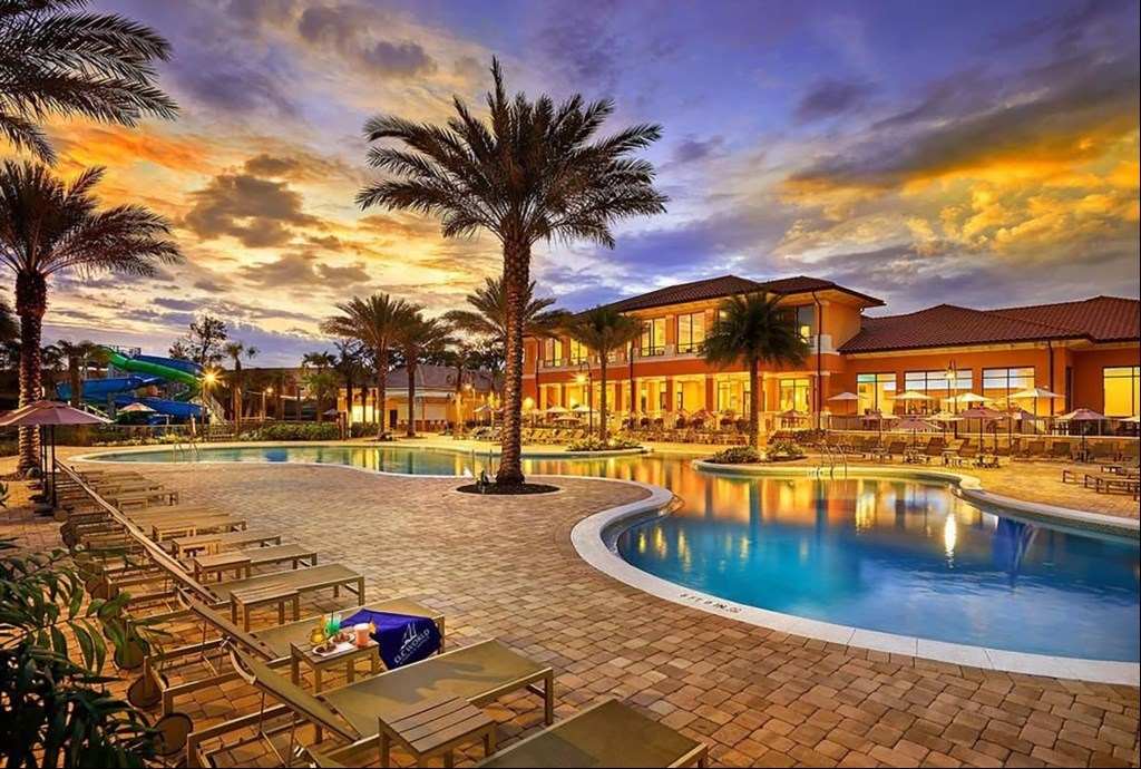 Regal Oaks Resort pool disney world area vacation rental