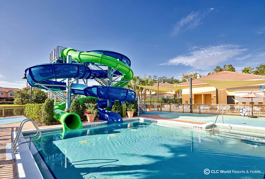 Regal oaks resort waterslide