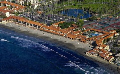 LA JOLLA BEACH AND TENNIS