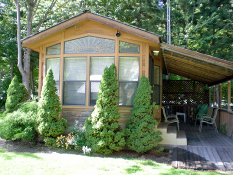 Icicle River RV Resort Cabins - Vacation Rental in Leavenworth